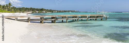 Spotts Beach Pier Panorama - 196416457