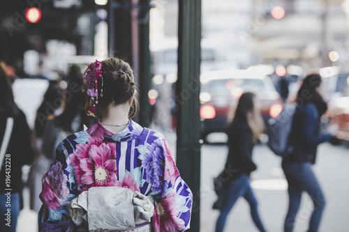 Papiers peints Kyoto 着物 女性 日本