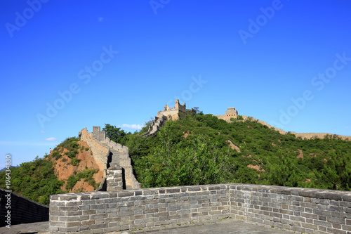Foto op Canvas Peking The Great Wall in China