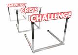 Challenge Crisis Emergency Overcome Hurdles 3d Illustration - 196438060