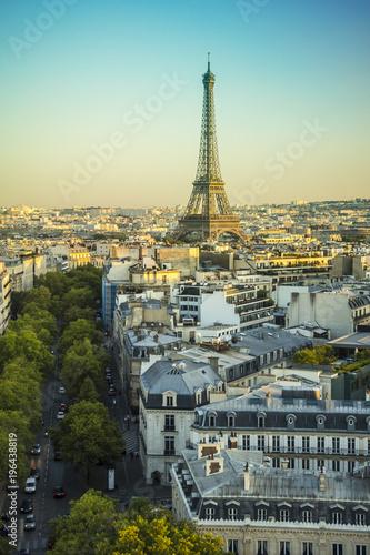 Fridge magnet Eiffel tower in Paris, France