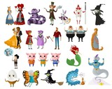 classic tales characters - 196467665
