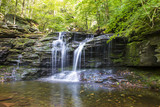 Waterfall at Ricketts Glen, PA