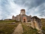 Malownicze ruiny zamku Krzyżtopór jednego z wiekszych zamków w Europie - 196472808