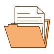 file folder isolated icon