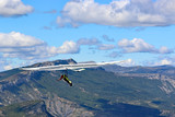 Hang Glider in the French Alps - 196485041