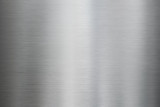 Metal brushed steel or aluminum texture - 196489244