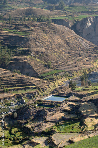 Fotobehang Landschappen Colca Canyon Peru