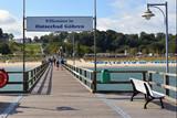 Seebrücke und Strand von Göhren auf Rügen - 196500808