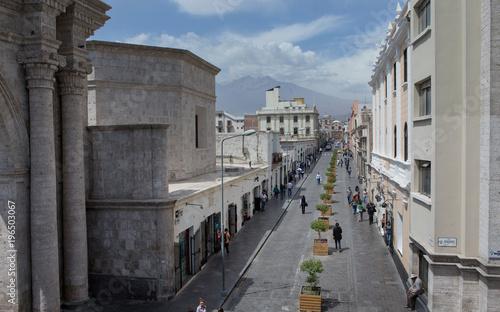 Fototapeta City of Arequipa Peru