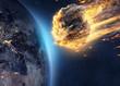 Asteroid fliegt auf Erde zu - 196514443