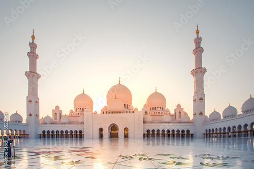 Aluminium Abu Dhabi Sheikh Zayed Mosque