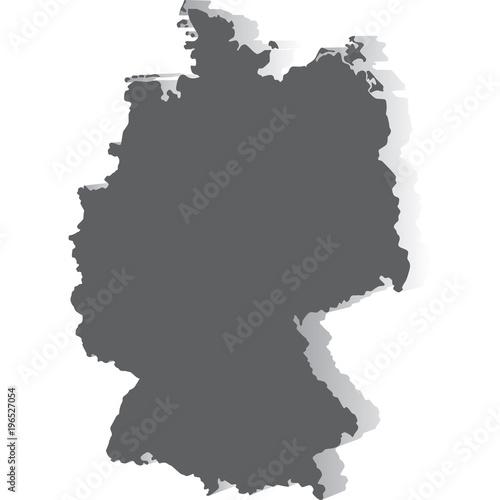 Fototapeta mappa germania