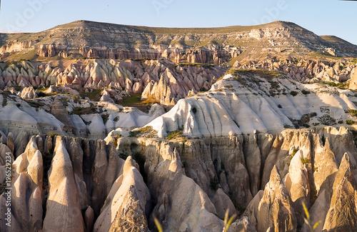 Sticker  unusual landscape of Cappadocia. Turkey