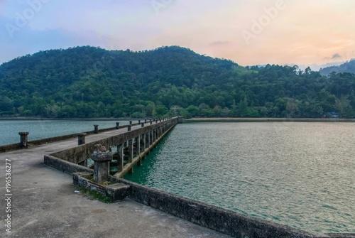 Fotobehang Pier ko chang, thailand