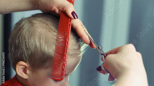 Hair Salon Children's haircut. Hair salon for children