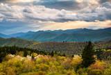 North Carolina Blue Ridge Parkway Scenic Mountain Landscape Asheville NC