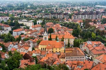 Aussicht auf Ljubljana