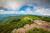 Blue Ridge Parkway North Carolina Mountains Scenic Outdoor Landscape Asheville NC