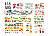 135 organic products - 196597072