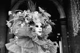 Mask in carnival of Venice.