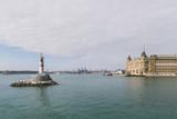 ISTANBUL, TURKEY - OCTOBER 09, 2015: lighthouse in sea in Istanbul, Turkey