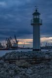 Lighthouse, Marine station Burgas, Bulgaria - 196620288