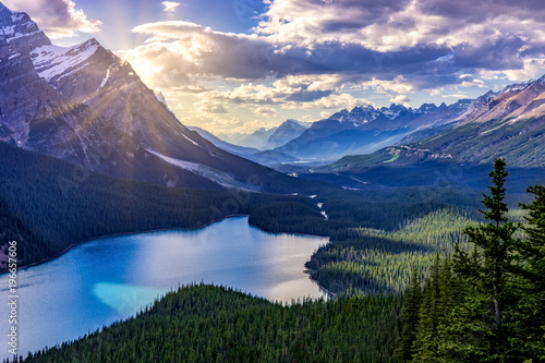 Mountain Lake - 196657606