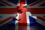 Great Britain on the flag - 196659822