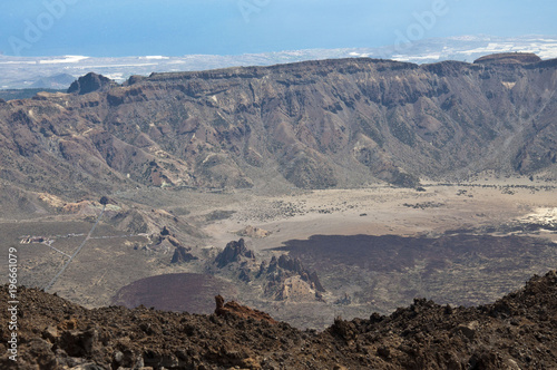 Foto op Plexiglas Donkergrijs Wulkan Teide, Teneryfa