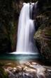 Pozza del Diavolo waterfall. Long exposure. - 196664435