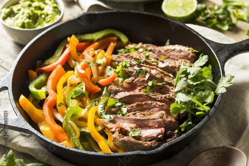 Homemade Beef Steak Fajitas - 196665031