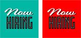Now hiring - 196668485