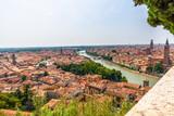Picture of the small italian City Verona in Veneto