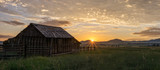 Barn at Sunrise - 196704469