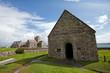 Iona abbey castle, Scotland, Mull island