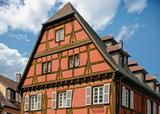 Molsheim. Maison à colombages , Bas Rhin, Alsace. Grand Est - 196734484