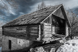 Old abandoned barn - 196741465