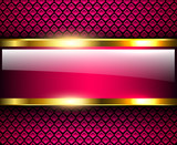 Abstract background glossy and shiny purple metallic