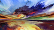 Visualization of Abstract Landscape