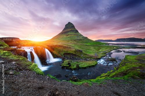 Kirkjufellsfoss - the most beautiful waterfall in Iceland - 196789447