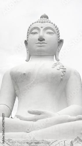 Aluminium Thailand Wat Phra That Mae Yen, White Buddha, Pai, Thailand