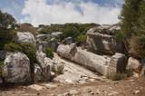 Kouros of Naxos island in Greece - 196797820