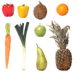 Lovely fruit and vegetables