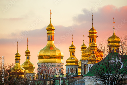 Foto op Plexiglas Kiev St. Michael's Golden-Domed Monastery in Kiev (Ukraine)