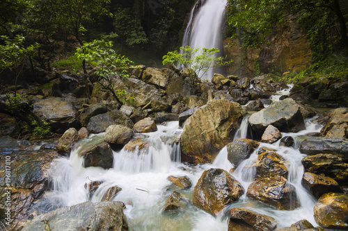 Aluminium Thailand Big Waterfall Chalermprakiat, Betong, Yala province, Thailand