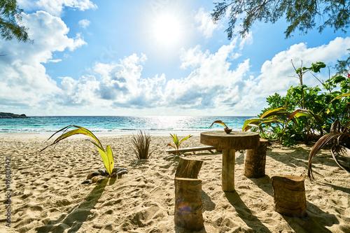 Anse intendance, tropical beach, Mahe, Seychelles