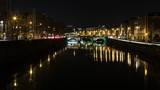 View on the river Liffey Dublin
