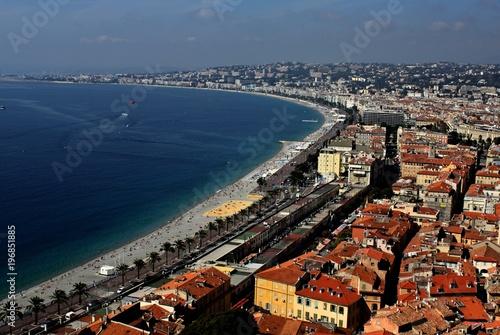 Fotobehang Nice Nice, France on the mediterranean coast