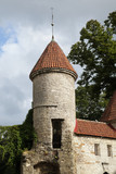 Medieval tower in Tallinn - 196857688